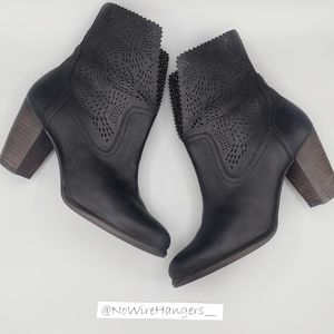 UGG Perforated Leather Booties
